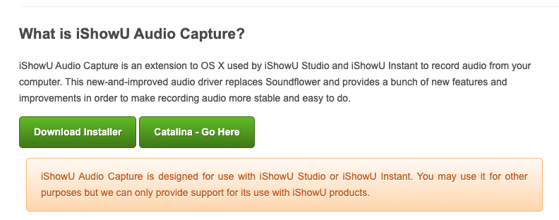 IShowUAUdio download