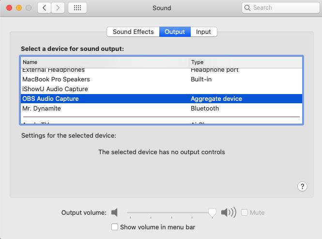mac Sound